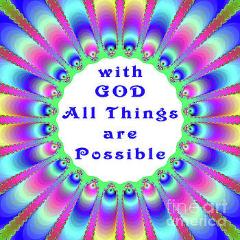 With God All Things are Possible by Victoria Pepe -- LuminSonics