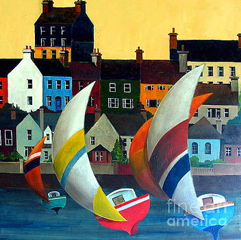 Val Byrne - With the wind in Kinsale, West Cork
