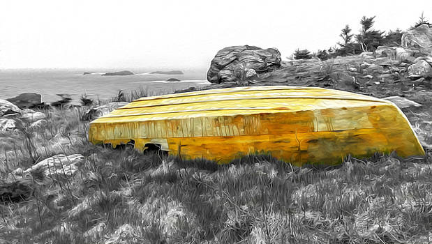 Withered Boat Oil Paint Effect by Ryan Tarrow