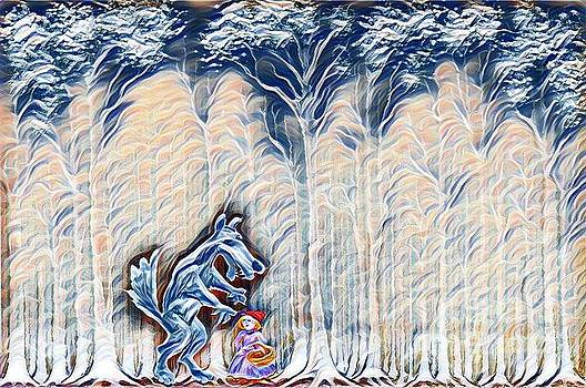 Wolf and Little Red Riding Hood by Milen Litchkov