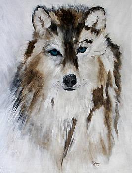 Wolf - Blue Star by Barbie Batson