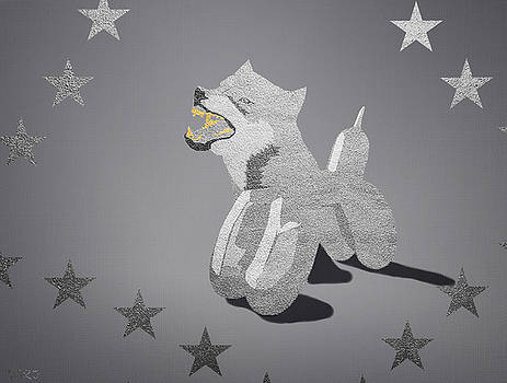 Wolf in Koons Clothing by Surj LA