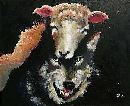 Wolf In Sheep Clothing  by Justin Lee Williams