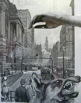 Wolf in the City by Linnie Greenberg