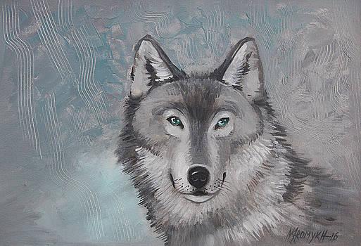 Wolf by Khromykh Natalia