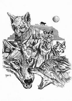 Wolf Life Cycle by John Keaton