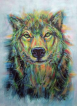 Wolf no.3 by Jack No War