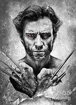 Wolverine red eyes edit by Andrew Read