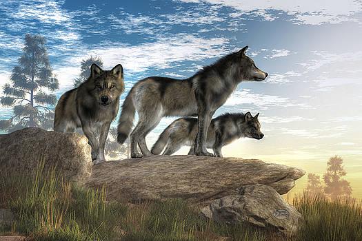 Daniel Eskridge - Wolves on the Hunt