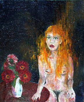 Wojtek Kowalski - Woman And Flowers