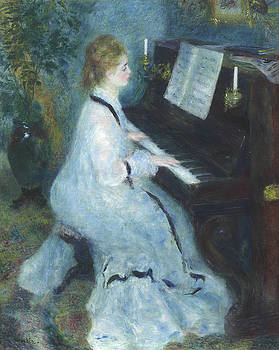Pierre Auguste Renoir - Woman at the Piano
