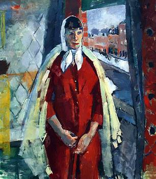 Wouters Rik - Woman At The Window 1915