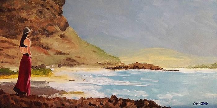Woman by the Sea by Glenn Harden