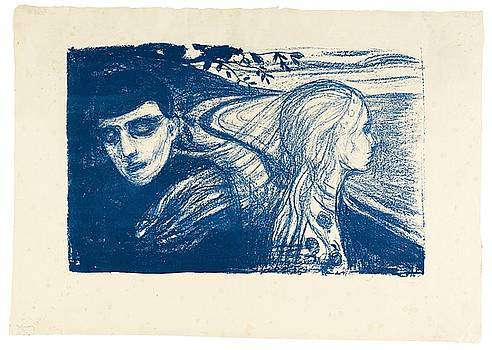Woman by Edvard Munch
