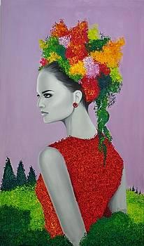 Woman  by Houda Khamlichi