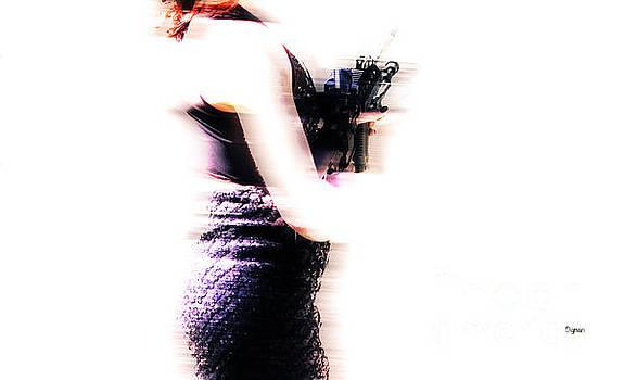 Woman in Black  by Steven Digman