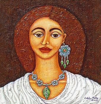 Madalena Lobao-Tello - Woman in flower