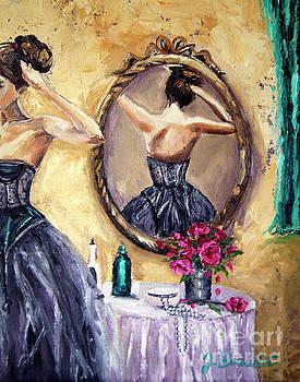 Woman in Mirror by Jennifer Beaudet