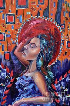 Woman in Oil by Lauren Marie Nitka