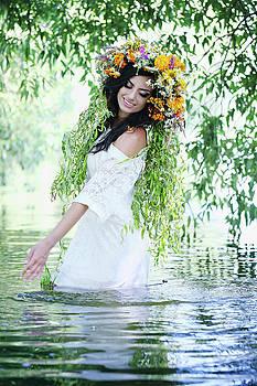 woman in water by Iuliia Malivanchuk by Iuliia Malivanchuk