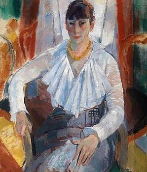 Wouters Rik - Woman In White 1915