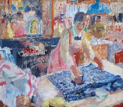 Wouters Rik - Woman Ironing 1912