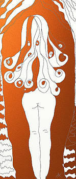 Woman nude by Agnes Karcz