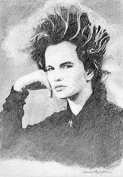 Woman Of Hair by David Lloyd Glover