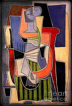 Picasso - Woman Sitting In An Armchair