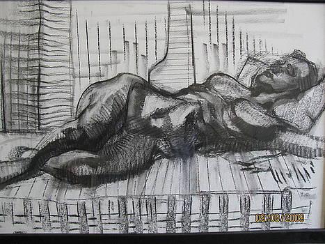 Woman Sleeping  by Shant Beudjekian