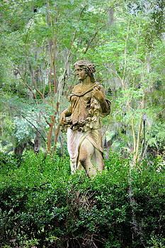 Woman Statue - The Myrtles Plantation by Beth Vincent