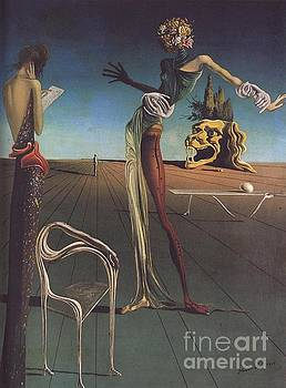 Dali - Woman With A Head Of Roses