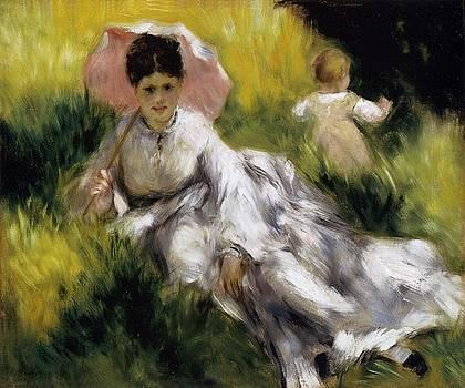 Renoir - Woman With A Parasol