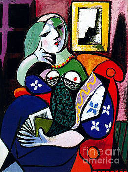 Picasso - Woman With Book