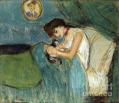 Picasso - Woman With Cat