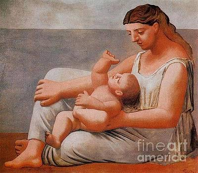 Picasso - Woman With Child