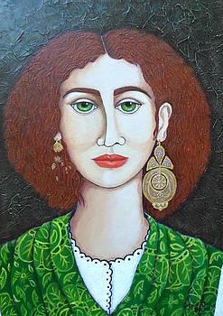 Madalena Lobao-Tello - Woman with green eyes