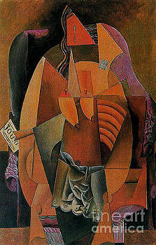 Picasso - Woman With Shirt Sitting In A Chair