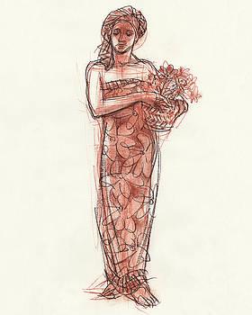 Judith Kunzle - Woman With Turban