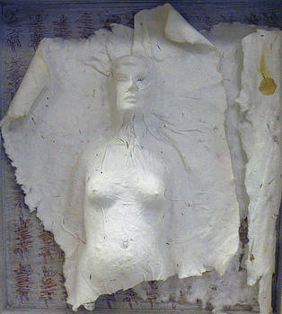 Lorraine Riess - Woman Wood Block