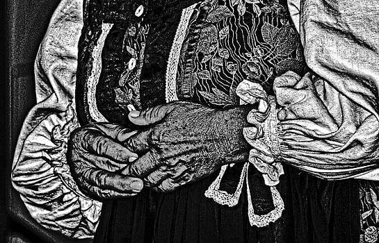 Woman's hands. by Bill Jonscher
