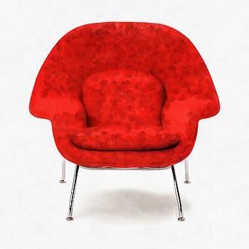 Womb Chair Mid Century Modern by Edward Fielding