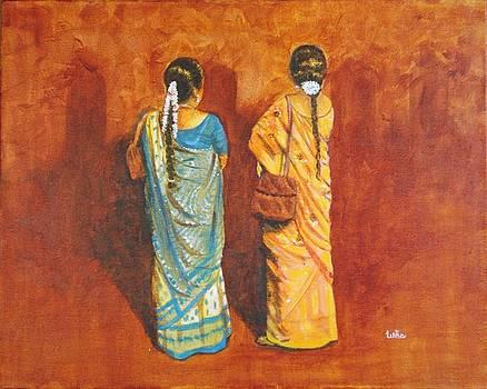 Usha Shantharam - Women in sarees