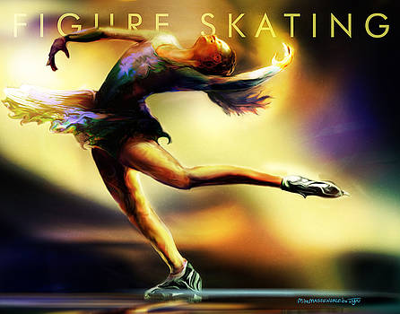 Women in Sports - Figure Skating by Mike Massengale