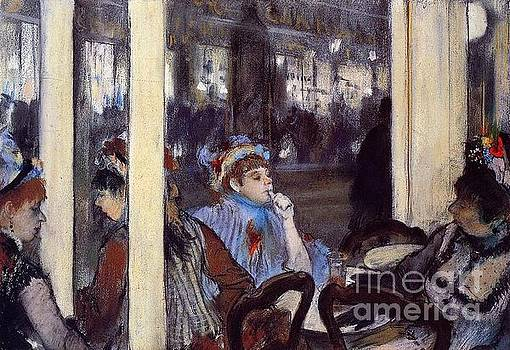 Renoir - Women On a Cafe Terrace In the Evening