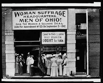 Women Ought To Vote by Deb Ingram