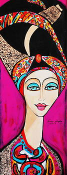 Women With Turbin by Nora Shepley