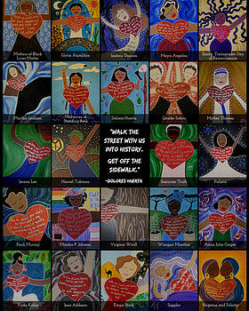 Women's History Month by Angela Yarber