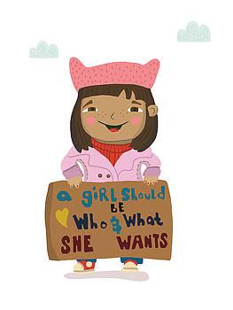 Women's March  by Nicole Wilson