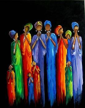 Women's Prayer Meeting by Marietjie Henning